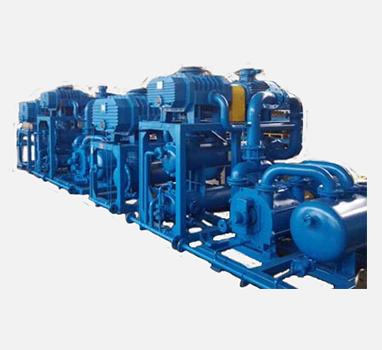 高效气冷水环机组