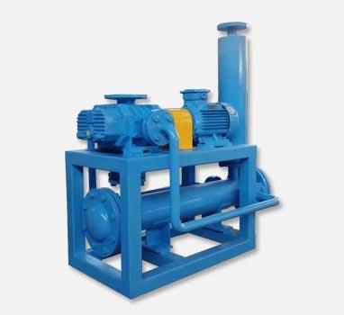 气体循环冷却罗茨真空泵